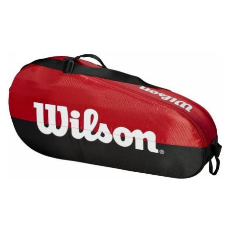 Wilson TEAM 1 COMP SMALL red - Tennis bag