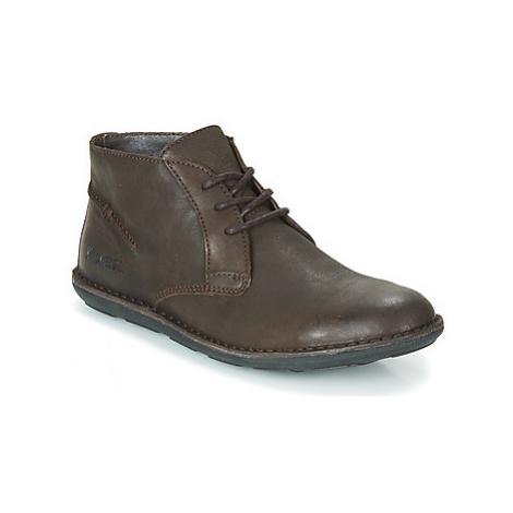 Kickers SWIBO men's Mid Boots in Brown