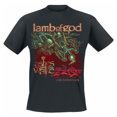 Lamb Of God - Ashes 15 Painting - T-Shirt - black