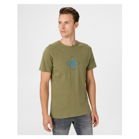 Salomon Logo T-shirt Green