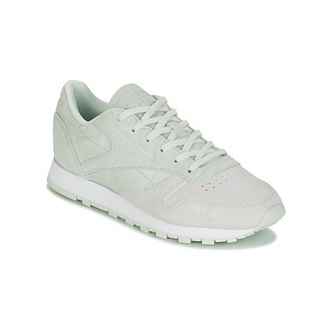 Reebok Classic CLASSIC LEATHER NBK women's Shoes (Trainers) in Green