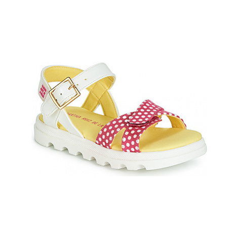 Agatha Ruiz de la Prada SLOW girls's Children's Sandals in White