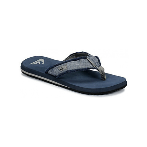 Quiksilver MONKEY ABYSS M SNDL XSBS men's Flip flops / Sandals (Shoes) in Blue