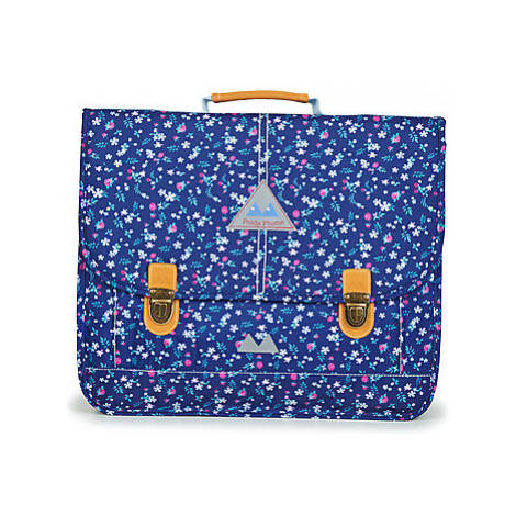 Poids Plume FLEURY CARTABLE 41 CM girls's Briefcase in Blue