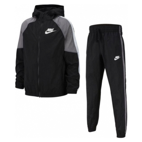 Nike NSW WOVEN TRACK SUIT B black - Boys' tracksuit set