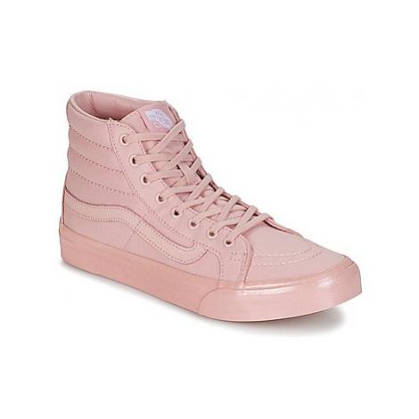 Vans SK8-HI SLIM women's Shoes (High-top Trainers) in Pink