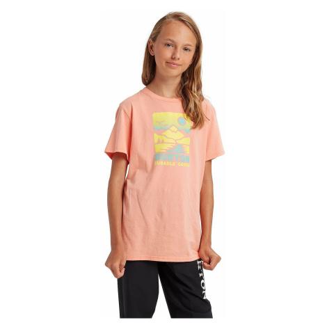 T-Shirt Burton Traildaze - Peach Amber - unisex junior