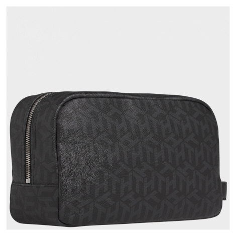 Tommy Hilfiger Men's TH Modern CC Washbag - Black Monogram