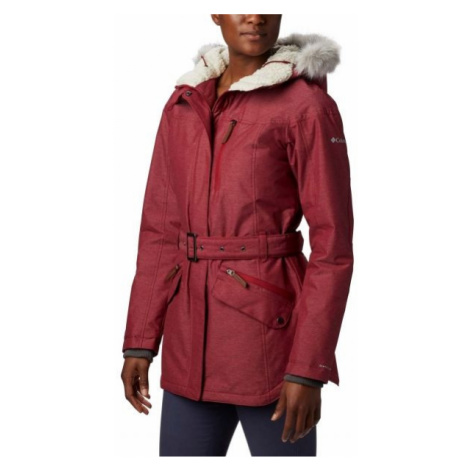 Columbia CARSON PASS II JACKET red wine - Women's winter jacket