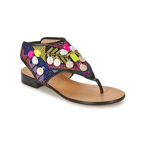 Alberto Gozzi ITALIA women's Flip flops / Sandals (Shoes) in Multicolour