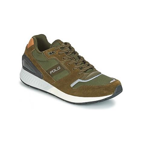 Polo Ralph Lauren TRAIN 100 men's Shoes (Trainers) in Kaki