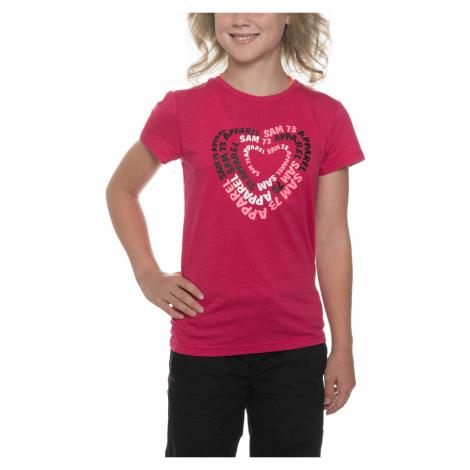 Sam 73 Kids T-shirt Red