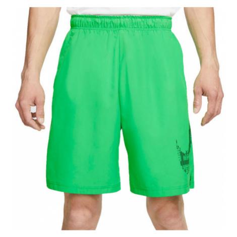 Nike FLX 2.0 GFX2 green - Men's workout shorts