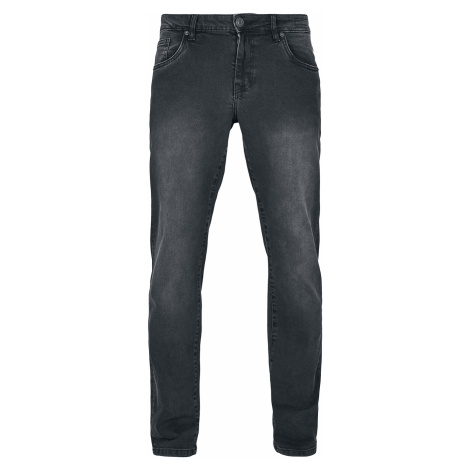 Urban Classics - Relaxed Fit Jeans - Jeans - black