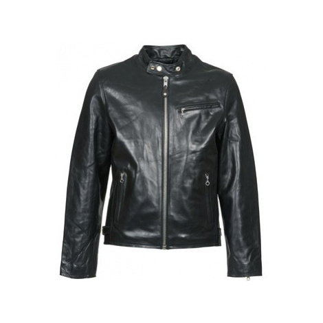 Schott LC 940 D men's Leather jacket in Black Schott NYC