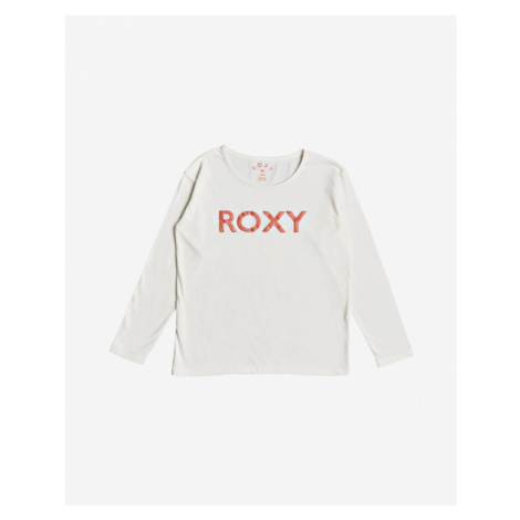 Roxy In The Sun Kids T-shirt White