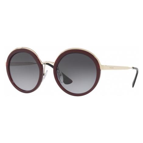 Prada Woman PR 50TS - Frame color: Bordeaux, Lens color: Grey-Black, Size 54-23/140