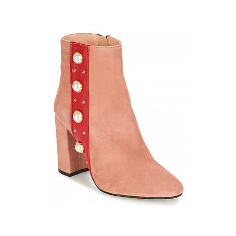 Jonak CHERRY women's Low Ankle Boots in Pink