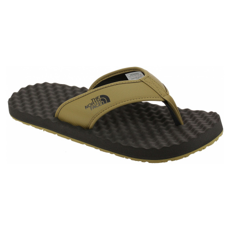 flip flops The North Face Base Camp Flip-Flop II - British Khaki/Asphalt Gray - men´s