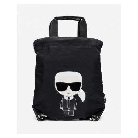 Karl Lagerfeld Ikonik Backpack Black
