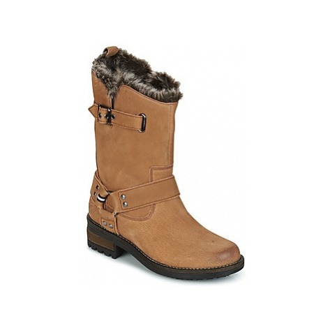 Superdry TEMPTER BOOT women's Mid Boots in Brown