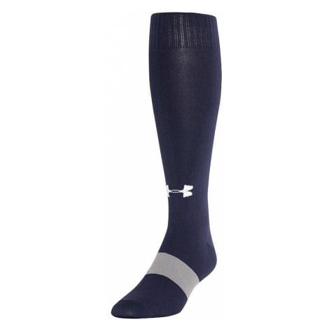 socks Under Armour Soccer Solid OTC - 410/Midnigt Navy/White