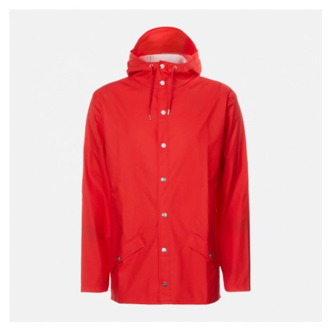 RAINS Jacket - Red - M-L