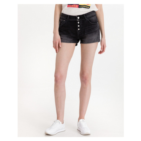 Pepe Jeans Bonita Destroy Shorts Black