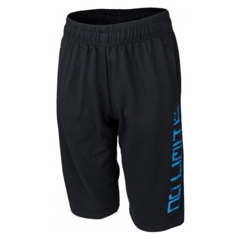 Lewro MERRILL black - Boys' 3/4 length sweatpants