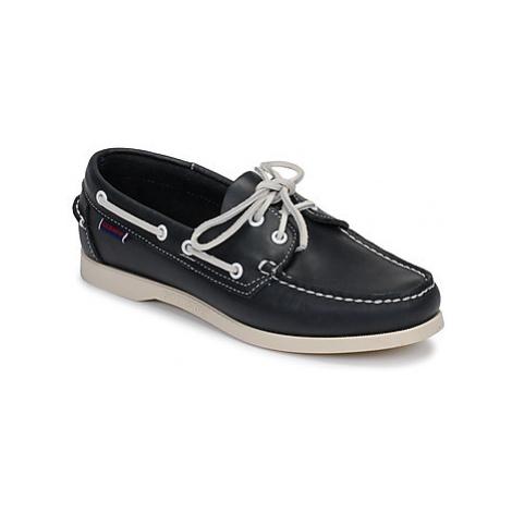 Sebago DOCKSIDES PORTLAND W women's Boat Shoes in Blue