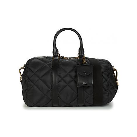 Polo Ralph Lauren CAMDEN SM DUFFLE SMALL women's Handbags in Black