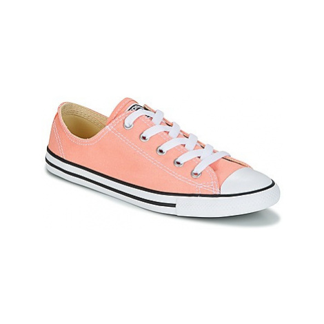 Converse Chuck Taylor All Star Dainty Ox Canvas Color women's Shoes (Trainers) in Pink