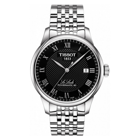 Mens Tissot Le Locle Powermatic 80 Automatic Watch T0064071105300