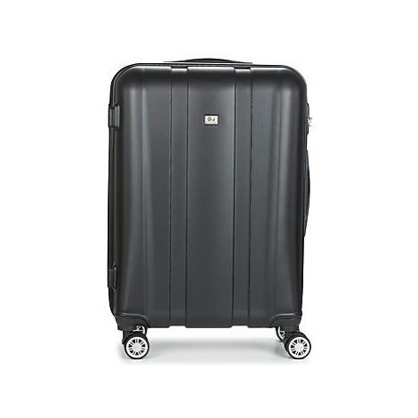 David Jones CHAUVETTO 72L men's Hard Suitcase in Black