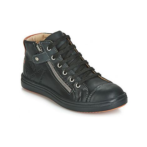 GBB NICO boys's Children's Shoes (High-top Trainers) in Black