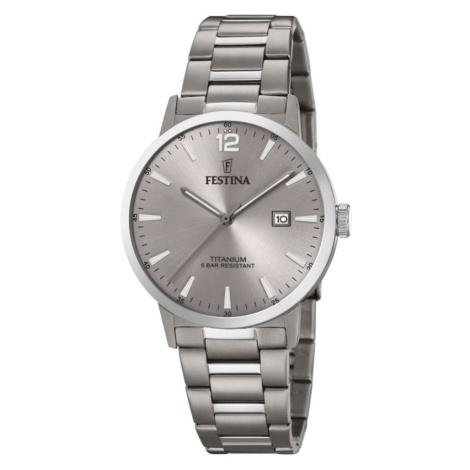 Mens Festina Titanium Titanium Watch