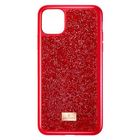 Glam Rock Smartphone Case, iPhone® 11 Pro Max, Red Swarovski
