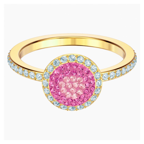 No Regrets Ring, Multi-coloured, Gold-tone plated Swarovski