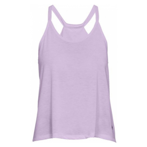 Under Armour WHISPERLIGHT TANK FOLDOVER purple - Women's tank top
