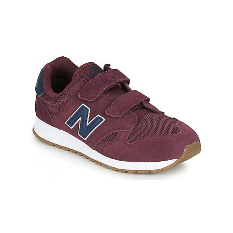 New Balance 520 girls's Children's Shoes (Trainers) in Bordeaux