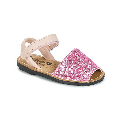 Citrouille et Compagnie SQUOUBEL girls's Children's Sandals in Pink