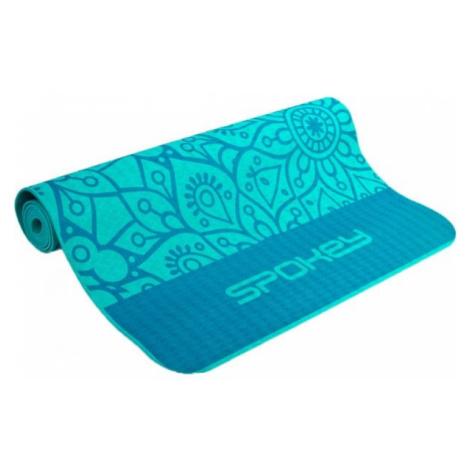 Spokey MANDALA blue - Yoga mat