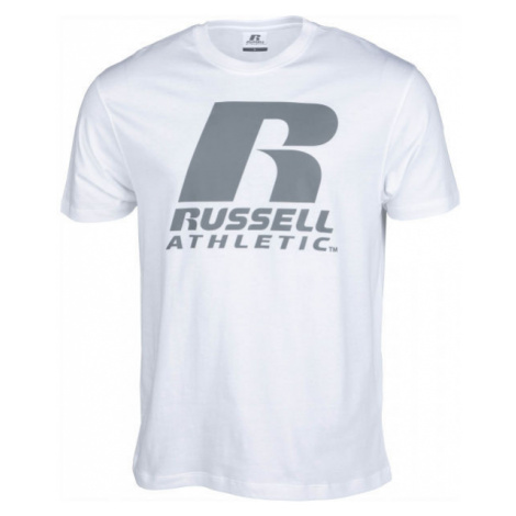 Russell Athletic S/S CREWNECK TEE SHIRT white - Men's T-shirt