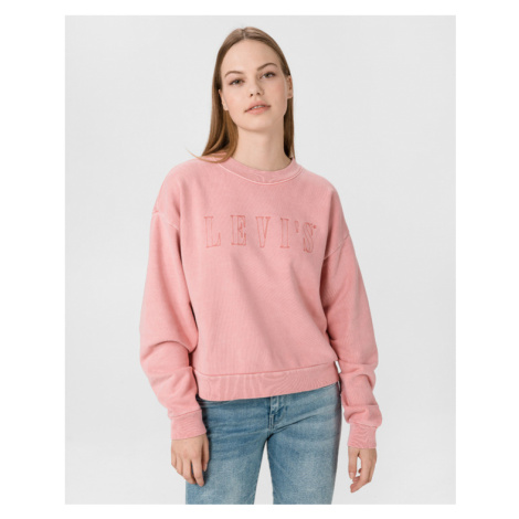 Levi's® Graphic Diana Crew Sweatshirt Pink Levi´s