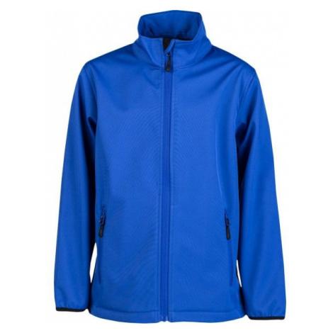 Kensis RORI JR blue - Boys' softshell jacket
