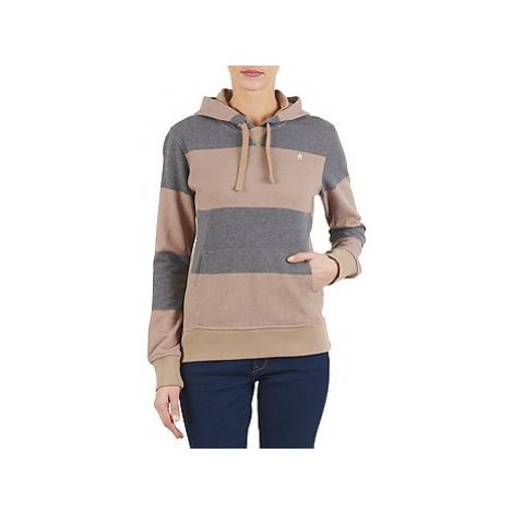 Nixon BLACKHAWK HOOD POV W women's Sweatshirt in Beige