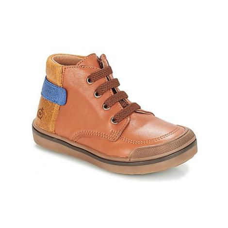 Citrouille et Compagnie JOUIZAE boys's Children's Mid Boots in Brown