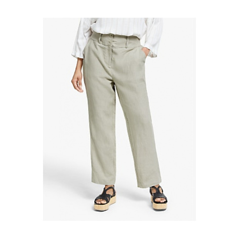 Masai Petroni Linen Boyfriend Trousers, Natural