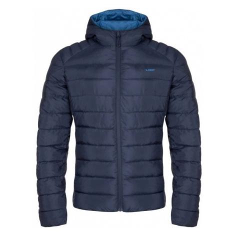 Loap IROSAN dark blue - Men's reversible jacket