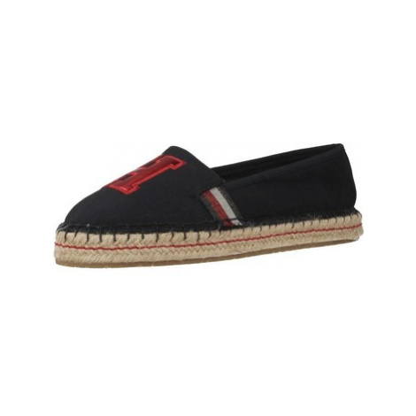 Tommy Hilfiger FW0FW03846 women's Espadrilles / Casual Shoes in Blue